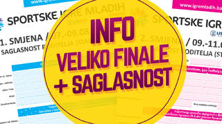 Informacije o finalnom takmičenju i saglasnost roditelja/staratelja - Sarajevo 07.08. - 11.08.2018.